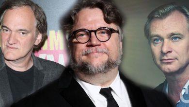 Christopher Nolan Guillermo del Toro Quentin Tarantino