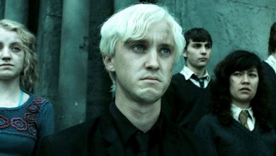 Photo of Deathly Hallows Deleted Scene Shows Draco's Redemption