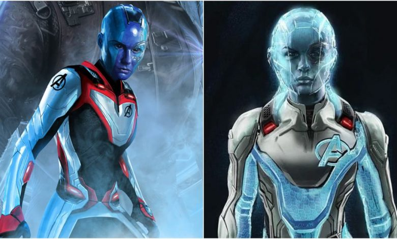 Endgame Concept Art Reveals Alternate Time Travel Suit