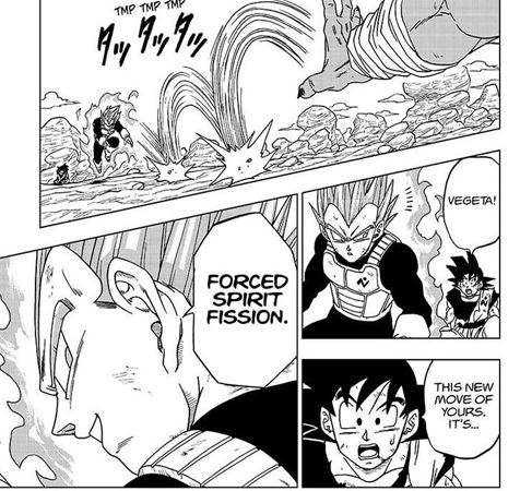 Forced Spirit Fission – Vegeta's Mysterious New Power