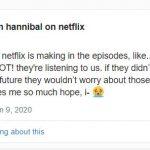 Netflix is Bringing Hannibal Season 4