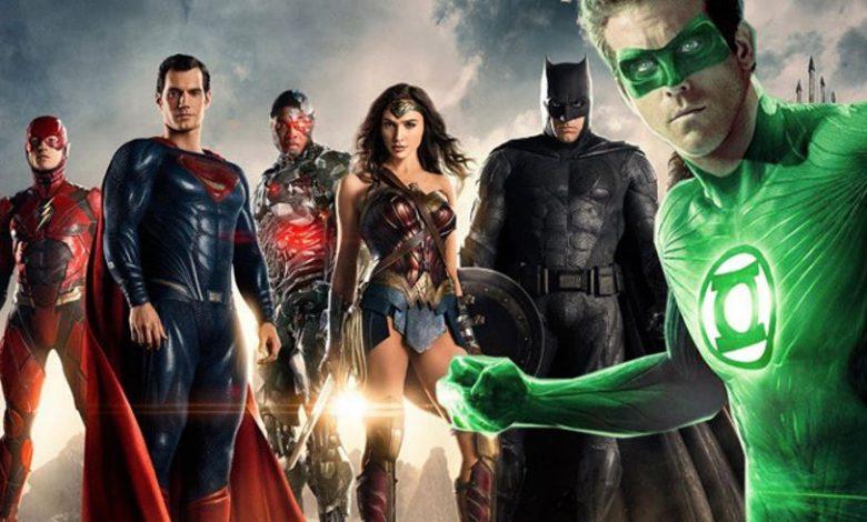 Ryan Reynolds Green Lantern in Zack Snyder's Justice League