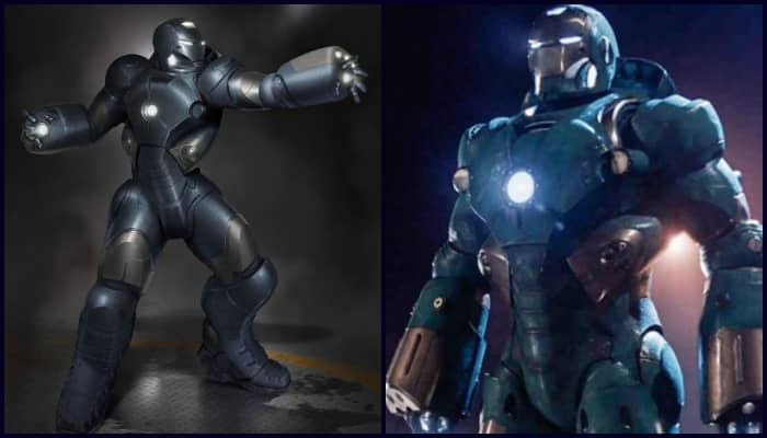 Unseen Concept Arts of The Underwater Iron Man Armor