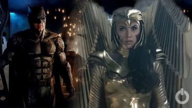 Photo of Wonder Woman 1984's Golden Eagle Armor is Like The Batsuit