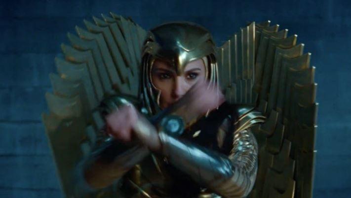 Wonder Woman 1984's Golden Eagle Armor