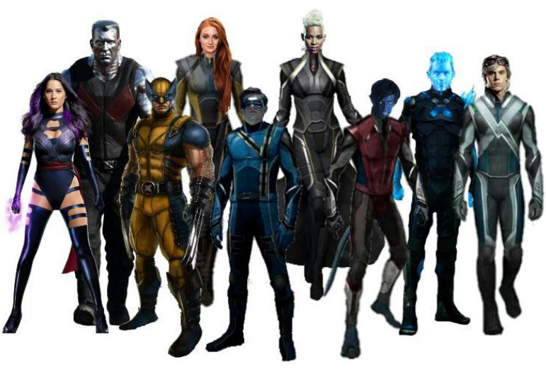 Line Up for The First MCU X-Men Movie