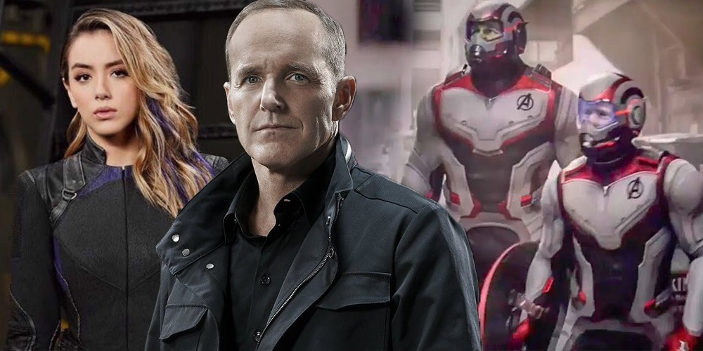 Agents of SHIELD Finale Reference To Avengers Endgame