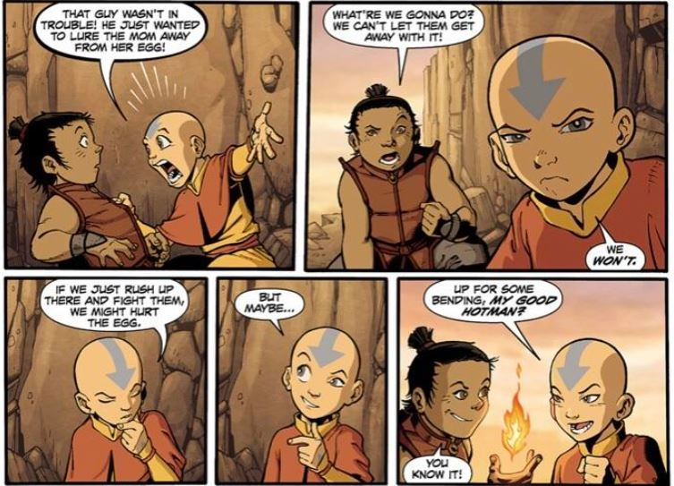 Aang's Secret Fire Nation Friend