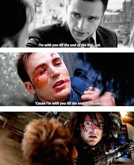 Emotional Moments Steve Rogers Bucky Barnes