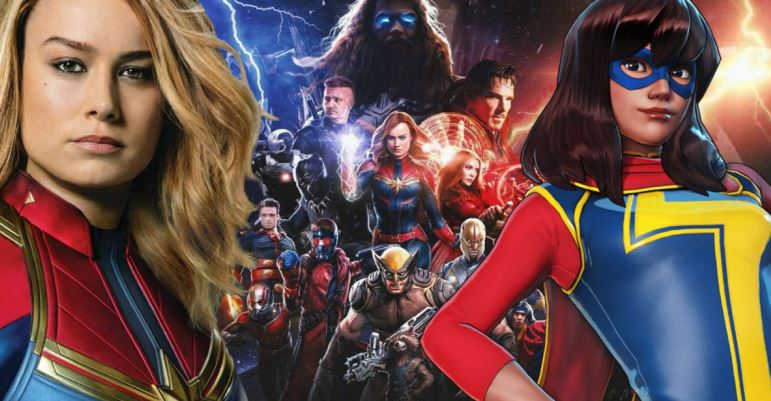 Ms. Marvel to Appear in Captain Marvel 2 Many Other Avengers