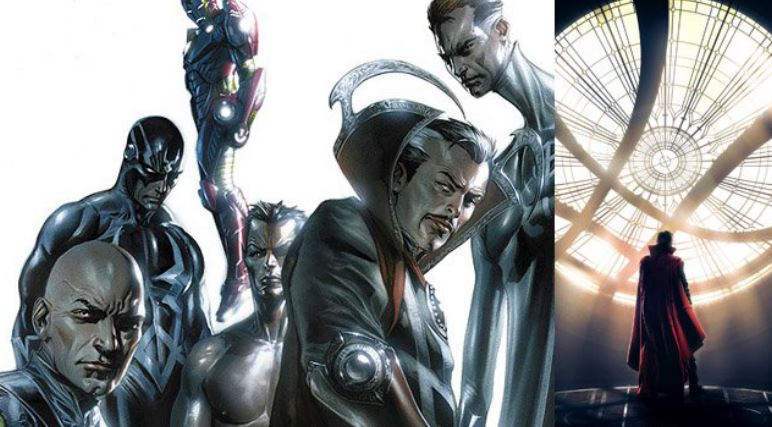 Marvel Developing a Live Action Illuminati Project