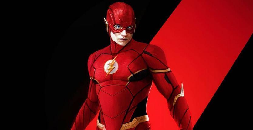 The Flash Ezra Miller New Comic Flash Suit