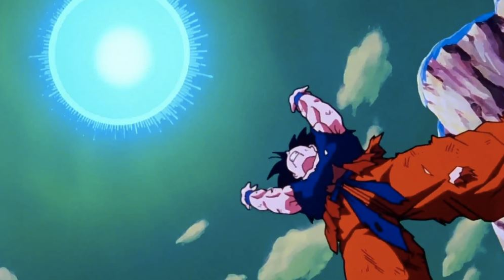 Z Fighter's Technique in Dragon Ball