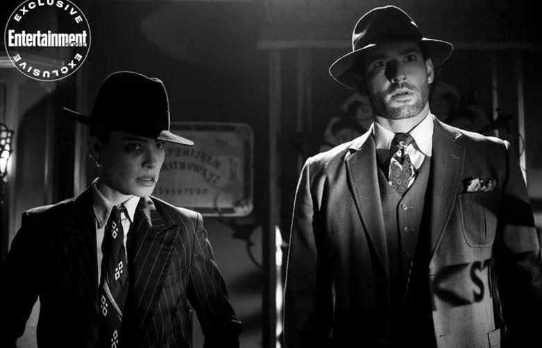 Lucifer Season 5 First Images of Noir Flashback Episode