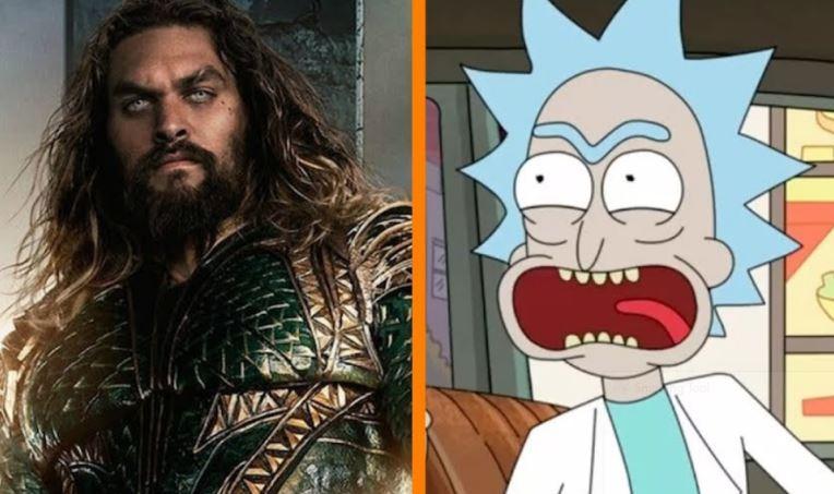 New Clip Rick and Morty Season 5 Aquaman Rip-Off