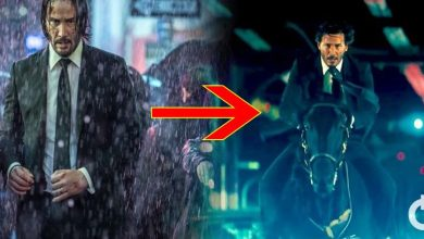 Stunts by Keanu Reeves in John Wick