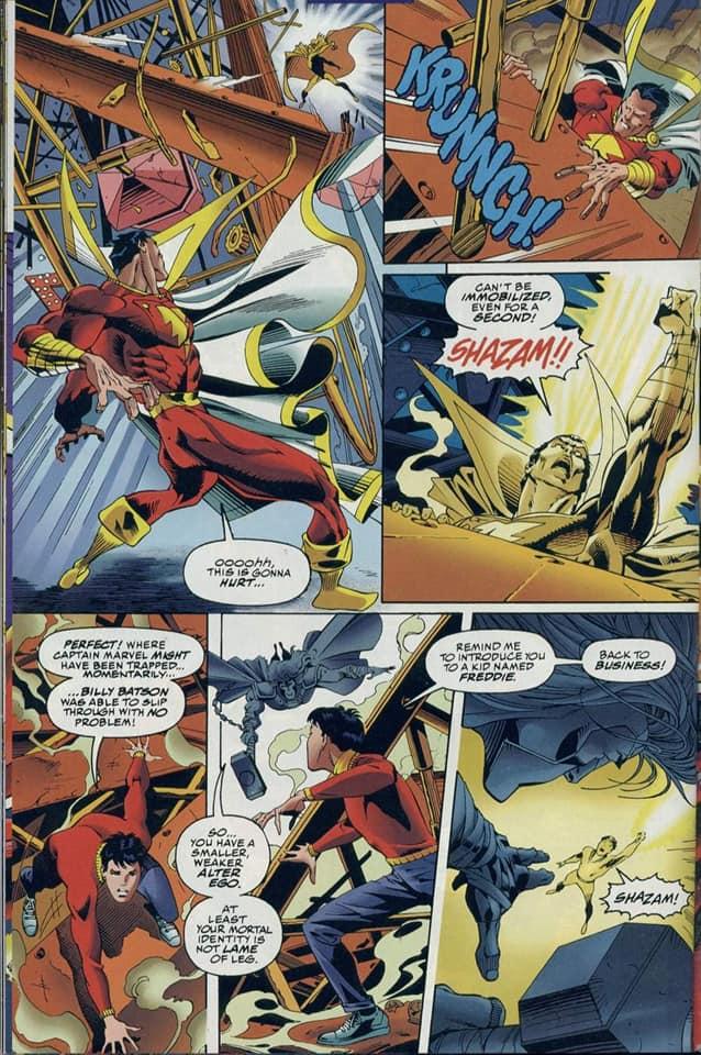 Thor Can Manipulate Shazam's Lightning