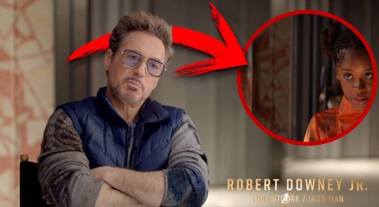 Tony Stark Got Nanotech Through Black Panther