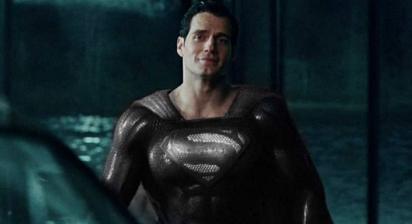Black Superman Suit In Justice League