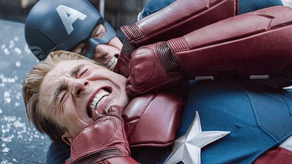 cap vs cap fight