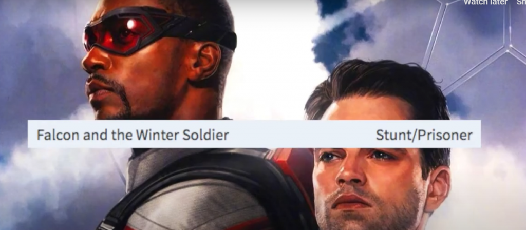 The Falcon and the Winter Soldier Prison Break Action Sequence