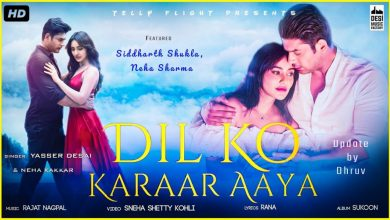 Photo of Dil Ko Karar Aaya Mp3 Song Download in High Quality Audio