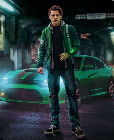 Concept Arts Chris Evans & Tom Holland in Live Action Ben 10 Movie