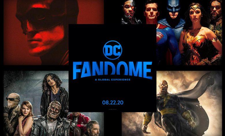 DC FanDome 100 Celebrities Attending DC Convention