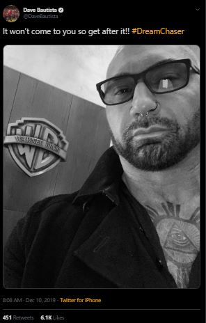 Dave Bautista Bane Will Be In The Batman