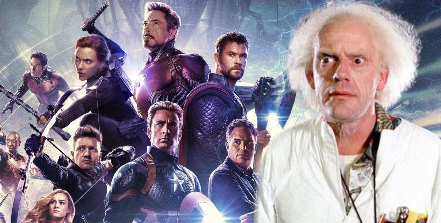 Doc Brown Reveals Avengers 26 Arrive In 2077