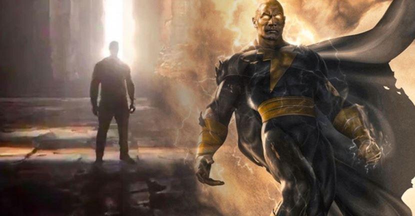 Dwayne Johnson's Black Adam Tease for DC FanDome