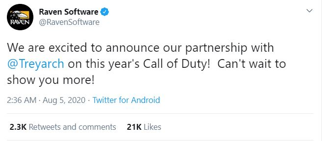 Call of Duty: Black Ops Cold War Officially Arriving in 2020