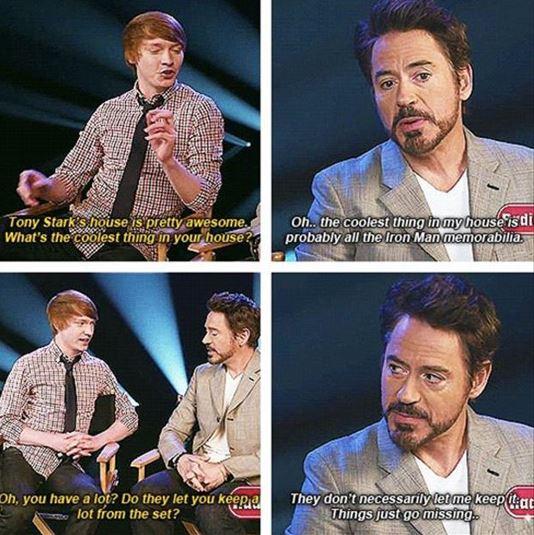 Hilarious Moments of Robert Downey Jr