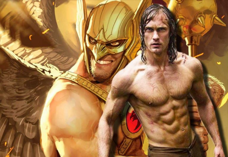 Tarzan Actor Eyed for Hawkman in Black Adam