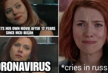 Photo of 15 Hilarious Memes of 2020 on Black Widow
