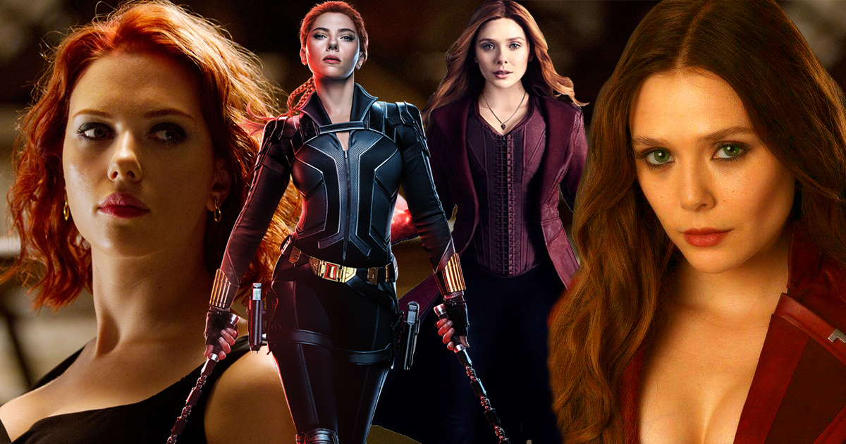 15 Hottest Images Of Black Widow And Scarlet Witch