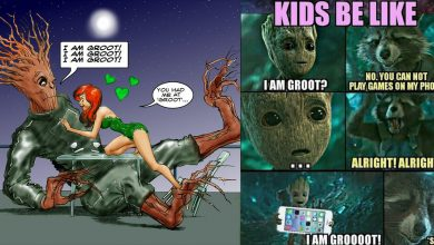 Memes On Groot - The Tree That Always Gives