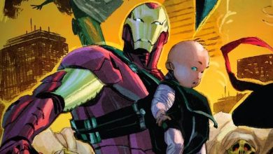 Photo of Iron Man Is Using a Literal Baby As His New Armor Upgrade