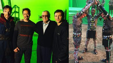 Photo of 15 Best Ever Photos Taken From Marvel Film Sets