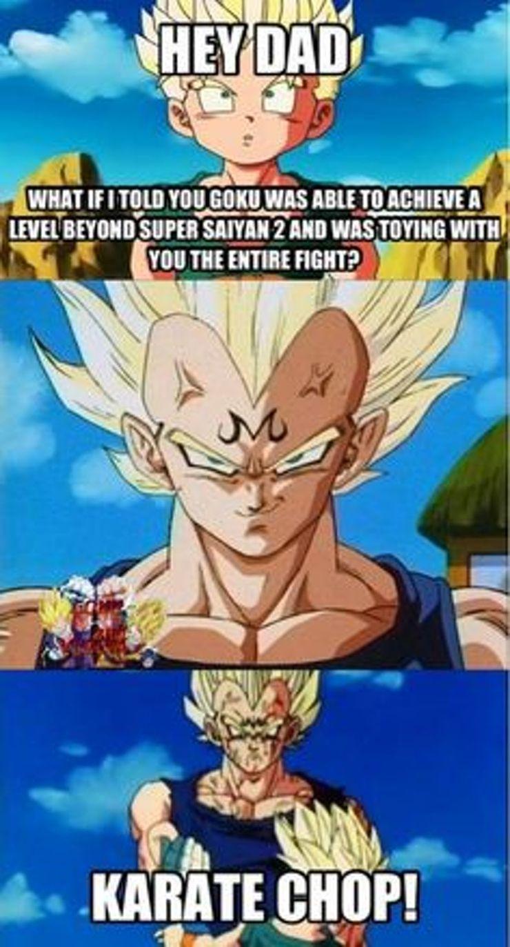 Goku vs Vegeta Memes