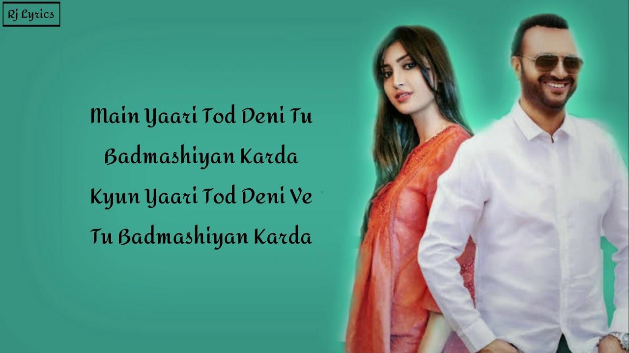 yaari tod deni song download