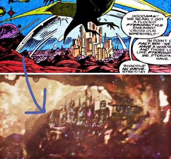 Ant-Man 3 Kang Ruler of Quantum Realm City