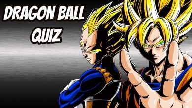 DRAGON BALL QUIZ