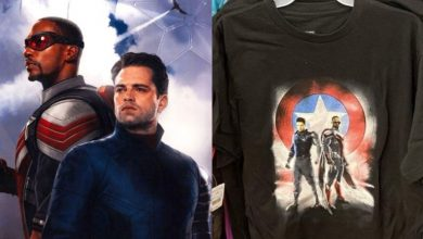 Photo of Falcon and Winter Soldier Merchandise Offers a Great Look at Their New Suits
