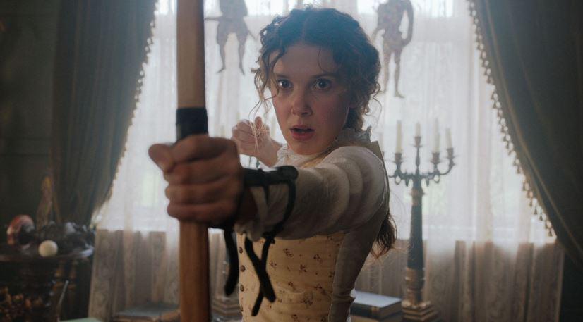 Enola Holmes Rotten Tomatoes Score