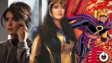 Photo of A Detailed Look at Salma Hayek's Ajak Suit in Eternals Revealed