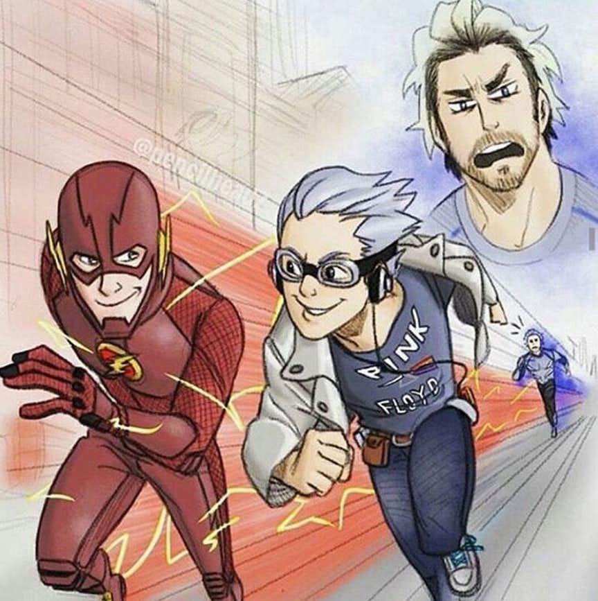 Best Memes On The Flash Vs Quicksilver