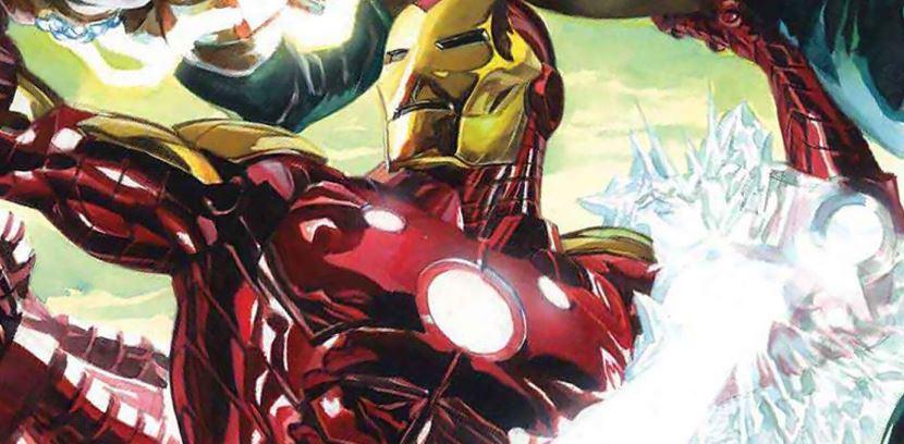 Iron Man Flaunts Symbiote Suit