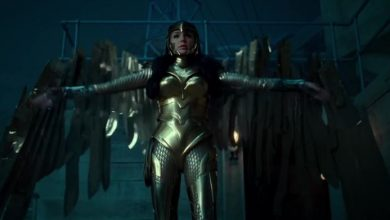 Photo of New Wonder Woman 1984 Footage Shows Diana Flying in her Golden Armor