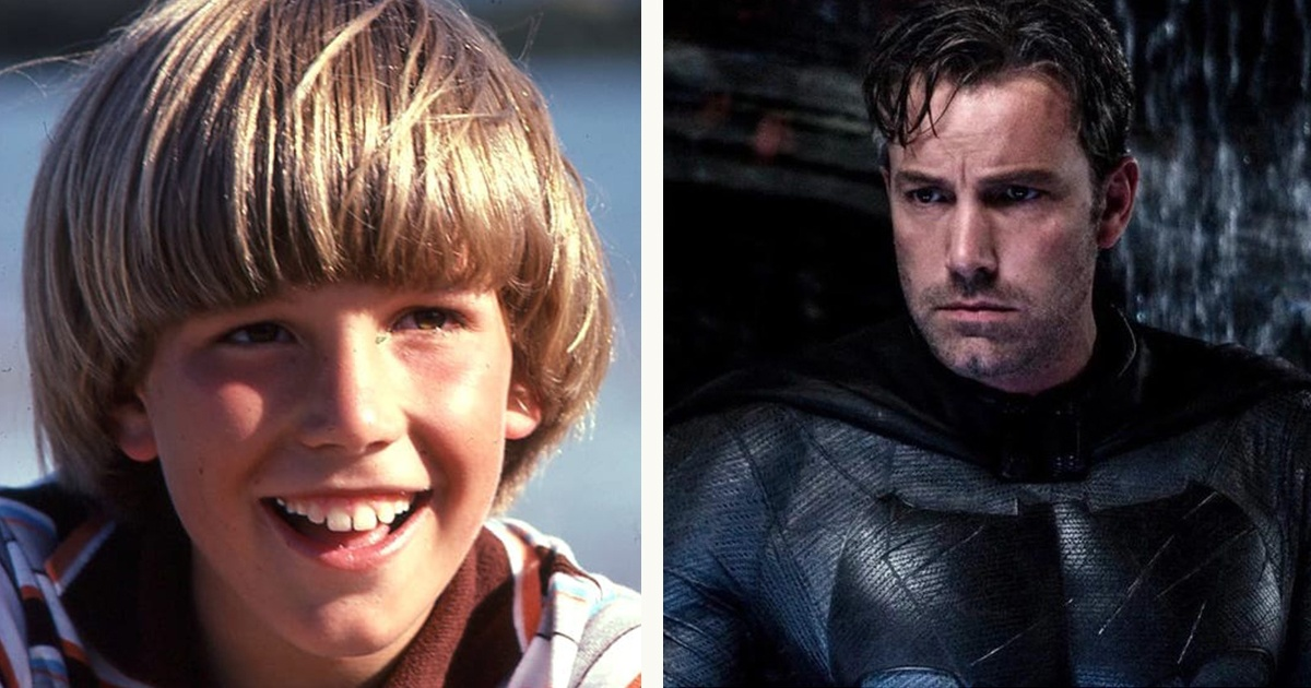Ben Affleck young vs now